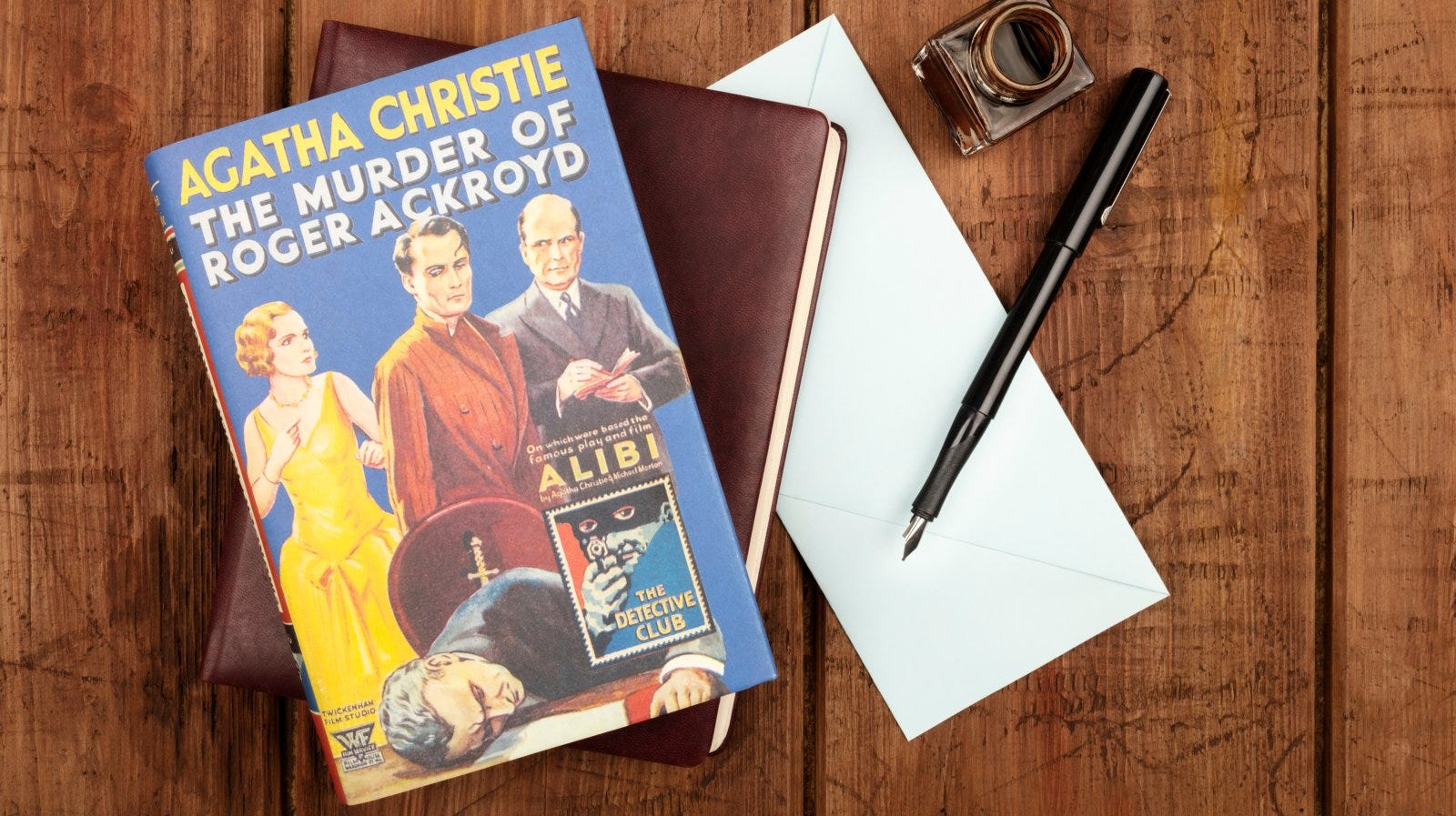 The Murder of Roger Ackroyd, a detective novel by Agatha Christie