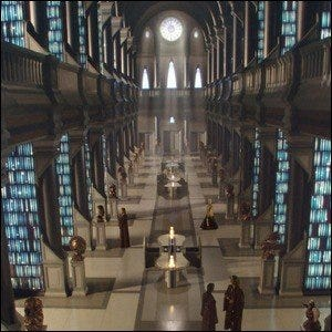 The Jedi Archives, as seen in Star Wars: Episode II - Attack of the Clones.