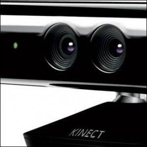 A photo of Microsoft's Kinect device.