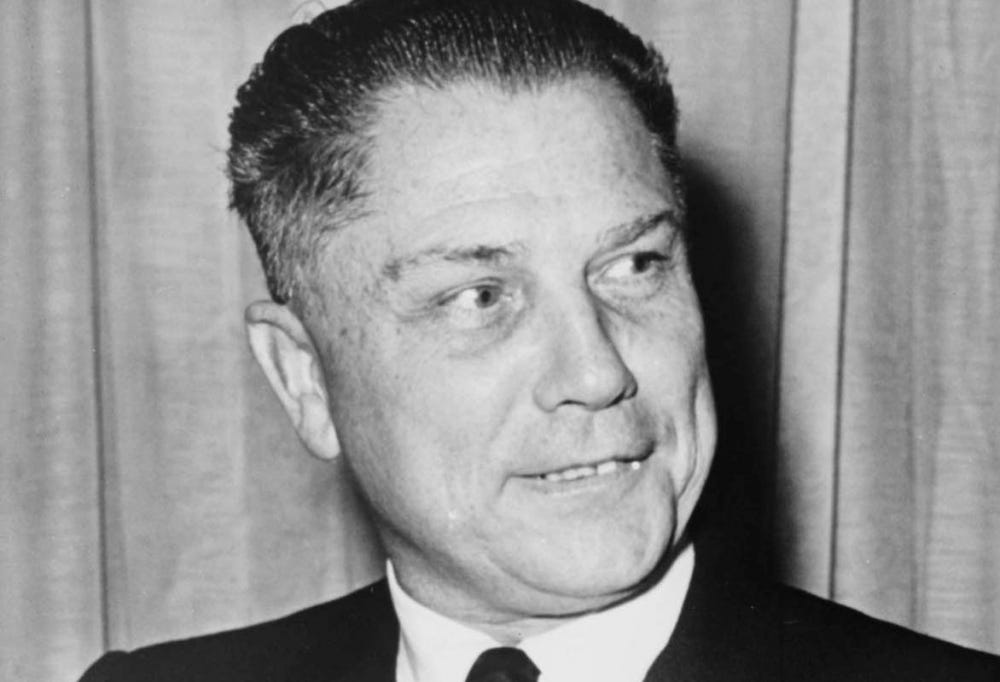 photograph of James R. Hoffa