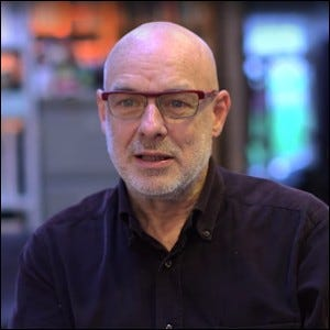 Brian Eno in a 2015 interview.