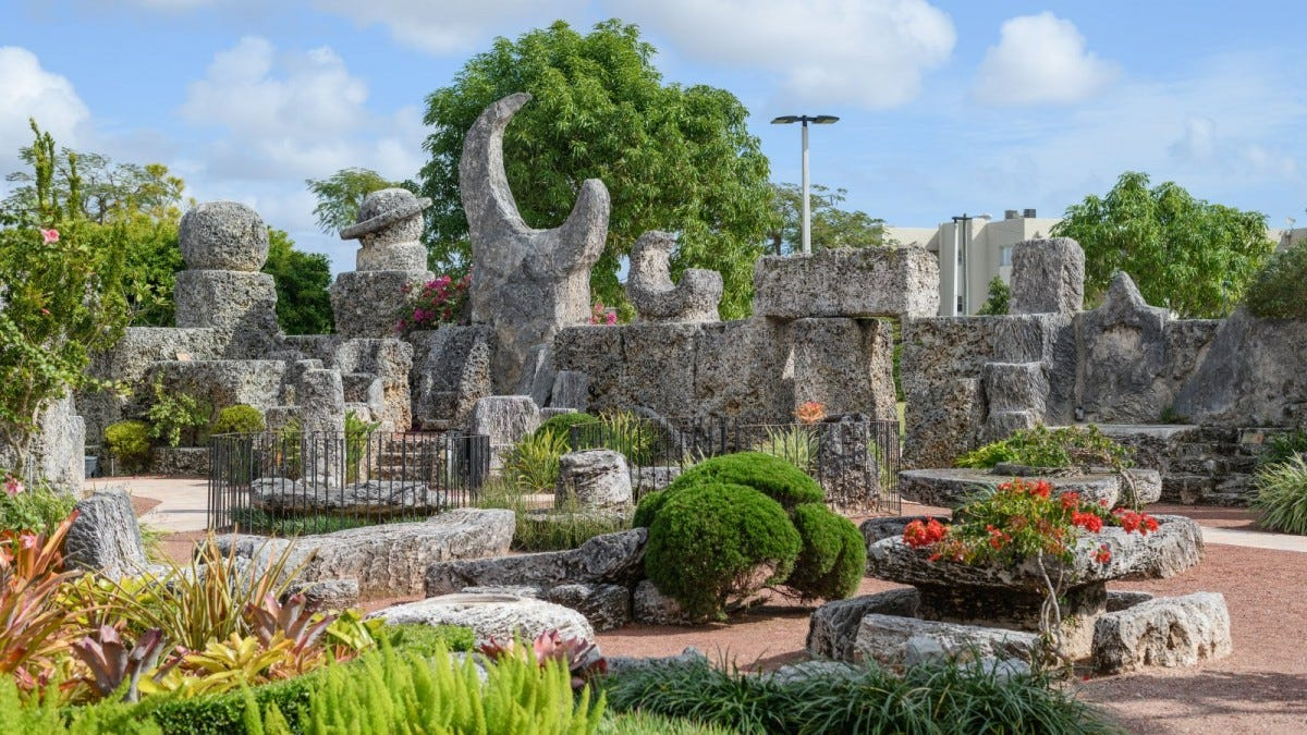 Coral Castle Museum in Homestead, Florida