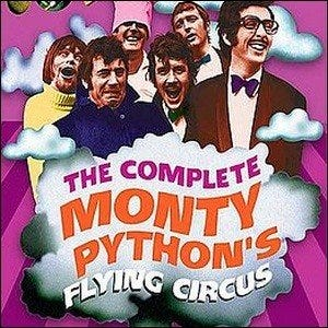 The cover of The Complete Monty Python's Flying Circus.