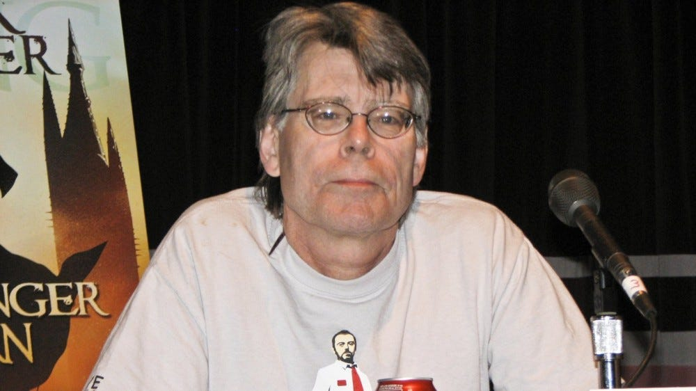 Stephen King at New York Comic Con
