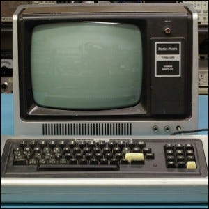 A Radio Shack Tandy TRS-80 Model I System.