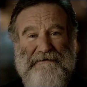 Robin Williams appearing in Nintendo's 2011 advertisement for the Nintendo 3DS and the 3DS version of The Legend of Zelda: Ocarina of Time.