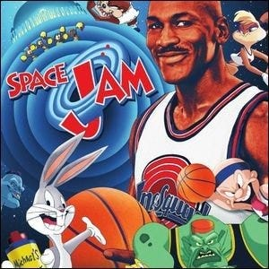 A promotional image for the film Space Jam.