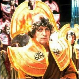Tom Baker, starring as the Fourth Doctor.